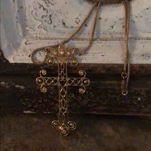 1977 Sarah Coventry Majestic Cross